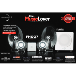 Combo: Ferguson Hill FH007 Mini Speaker System with Bluetooth & FH008 Subwoofer