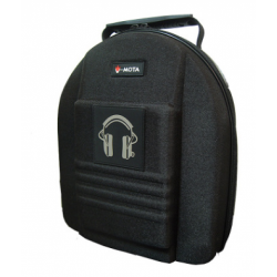 V-MOTA Headset Carrying Case for Headphones with Customisable Foam Inserts