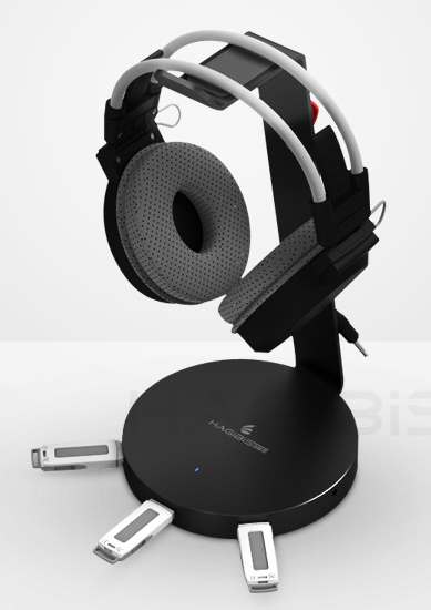 Headphone Stand With Usb Hub 3 Ports