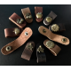 Leather Cable Organiser - Assorted Design (Button Fastening)