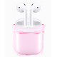 Crystal Hard Case for Airpods -Free Grey Pouch