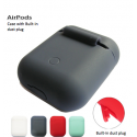 Airpods Silicone Case with Built-in Dust Plug