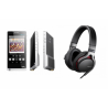COMBO Sony NMZ-ZX1 Hi Res Player & MDR1RNC Premium Noise-Canceling Headphones